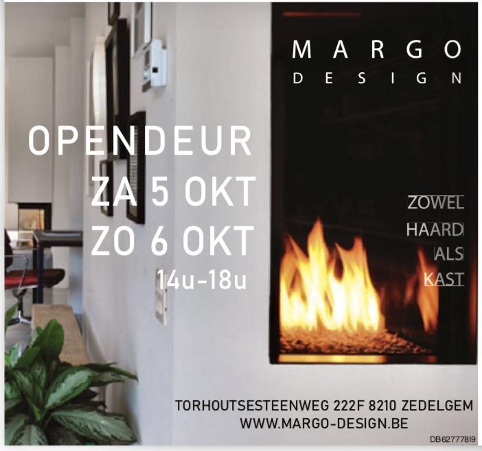 opendeur open haarden Margo design oktober 2019