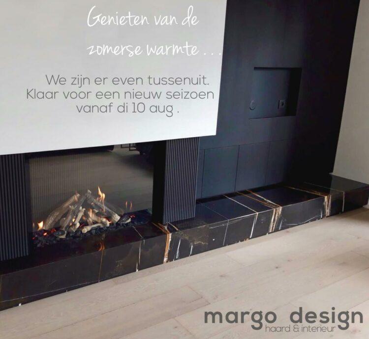 Bouwverlof Margo design haarden en interiuer gashaard